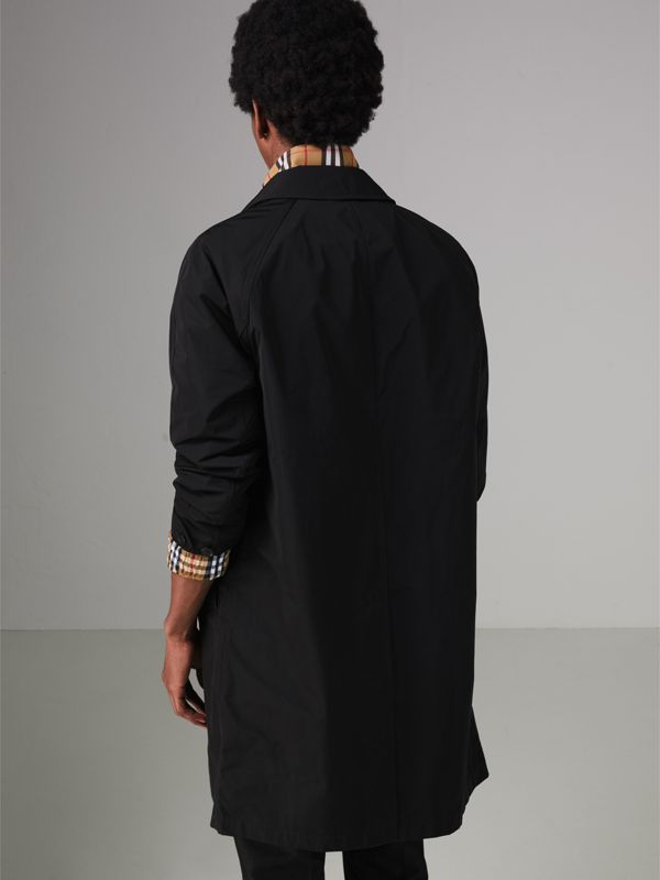 Shape-memory Taffeta Car Coat in Black - Men | Burberry Australia - cell image 2