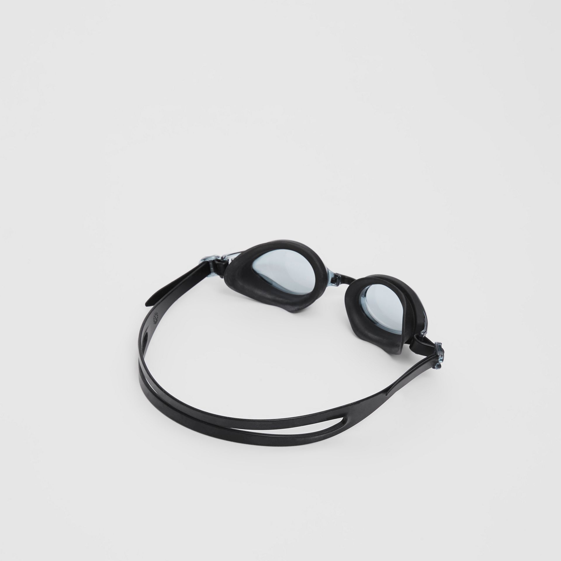 Logo Print Swimming Goggles in Black | Burberry Hong Kong S.A.R - gallery image 3