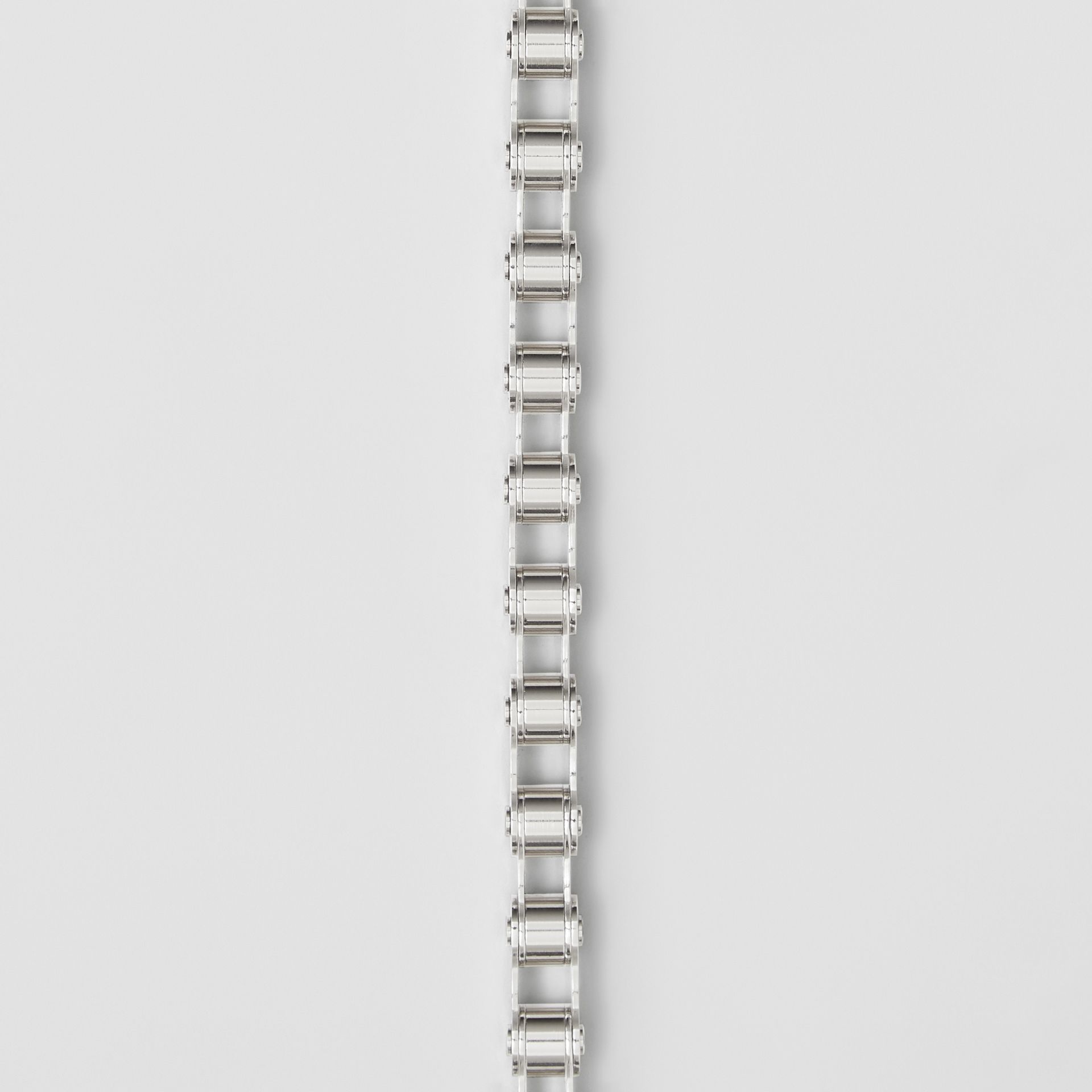 Bicycle Chain Palladium-plated Bracelet in Silver - Men | Burberry - gallery image 1