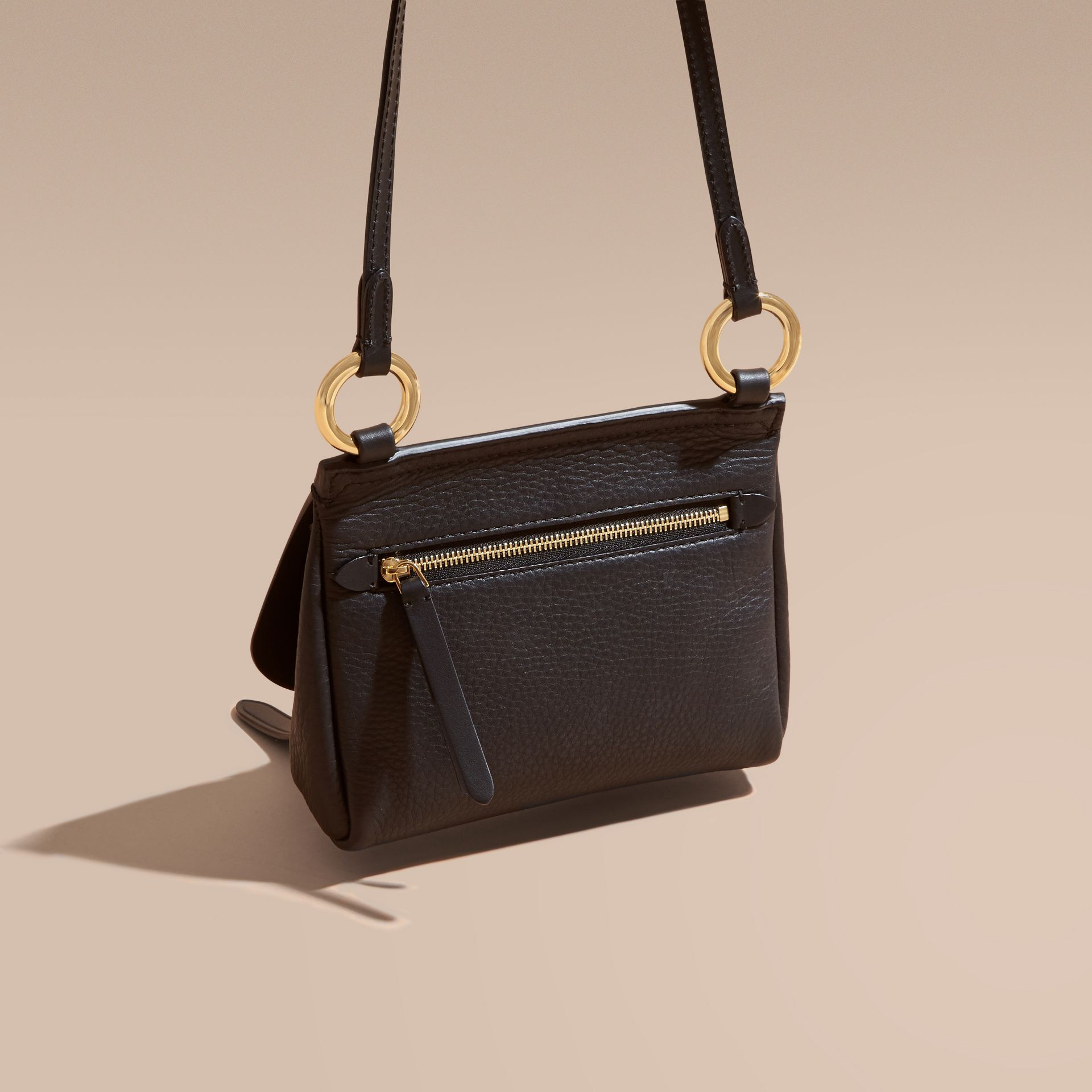 The Baby Bridle Bag in Leather in Black - gallery image 5