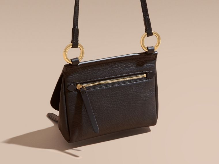 The Baby Bridle Bag in Leather in Black - cell image 4