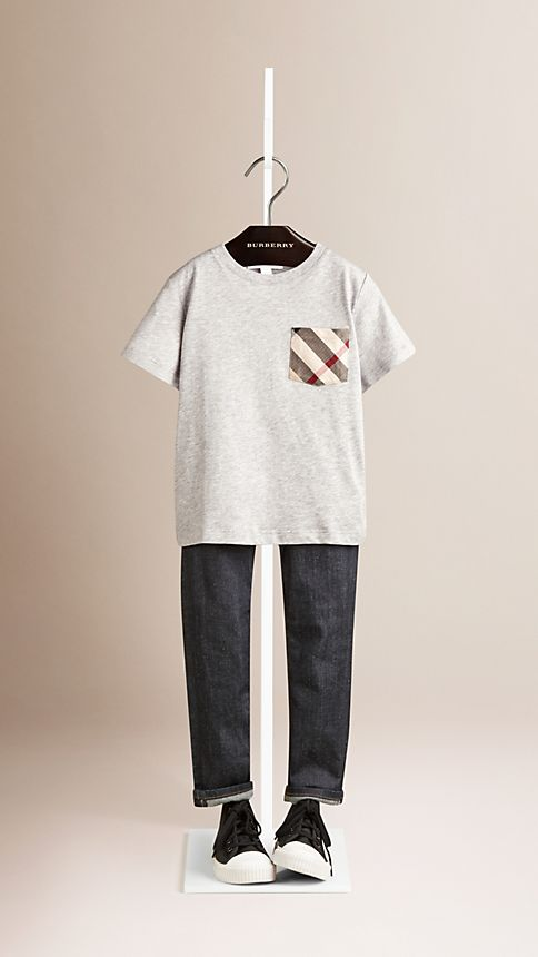 Check Pocket T-Shirt