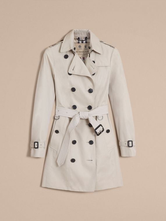 The Sandringham – Mid-Length Heritage Trench Coat in Stone - cell image 3