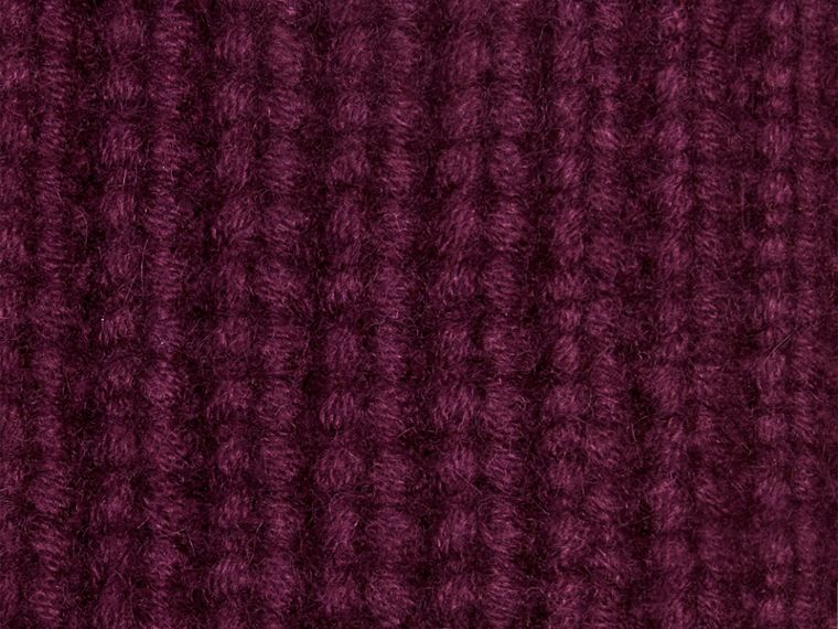 Elderberry Knitted Cashmere Socks Elderberry - cell image 1