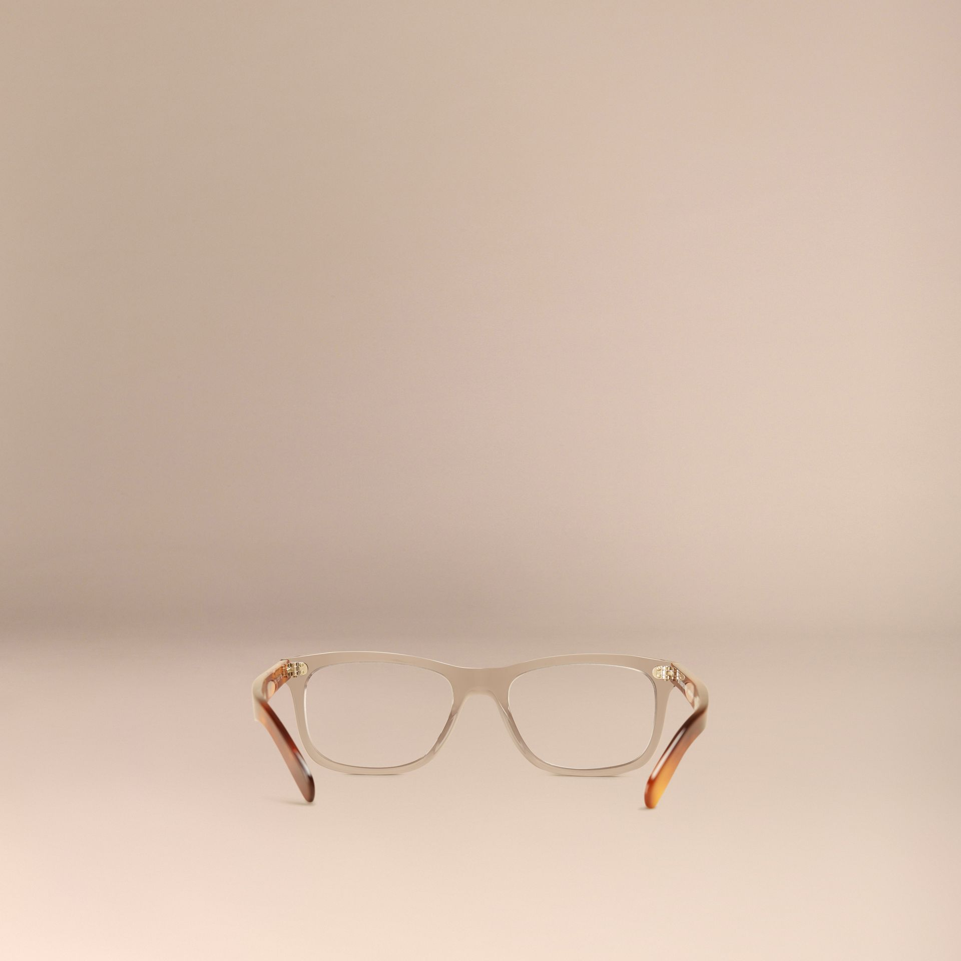 Smokey grey Square Optical Frames Smokey Grey - gallery image 4