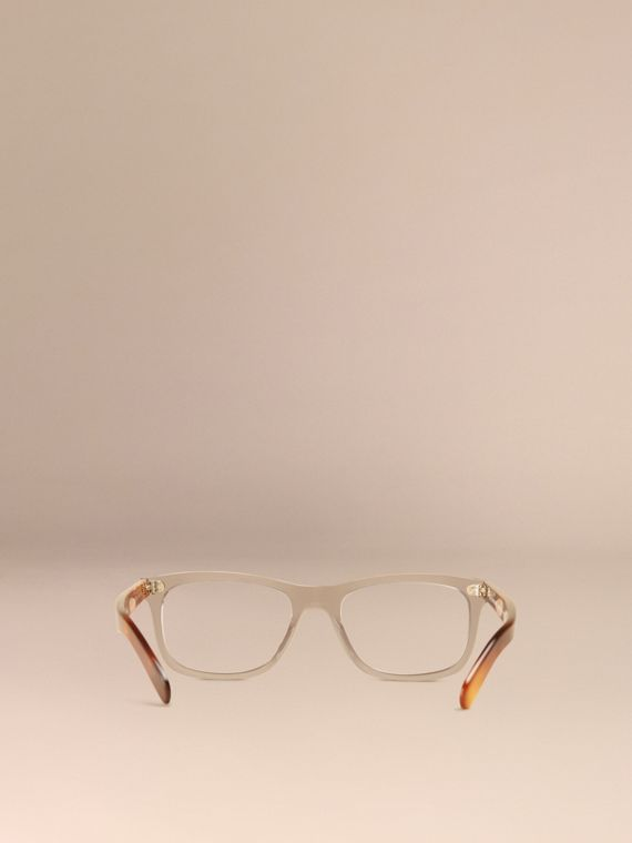 Square Optical Frames Smokey Grey - cell image 3