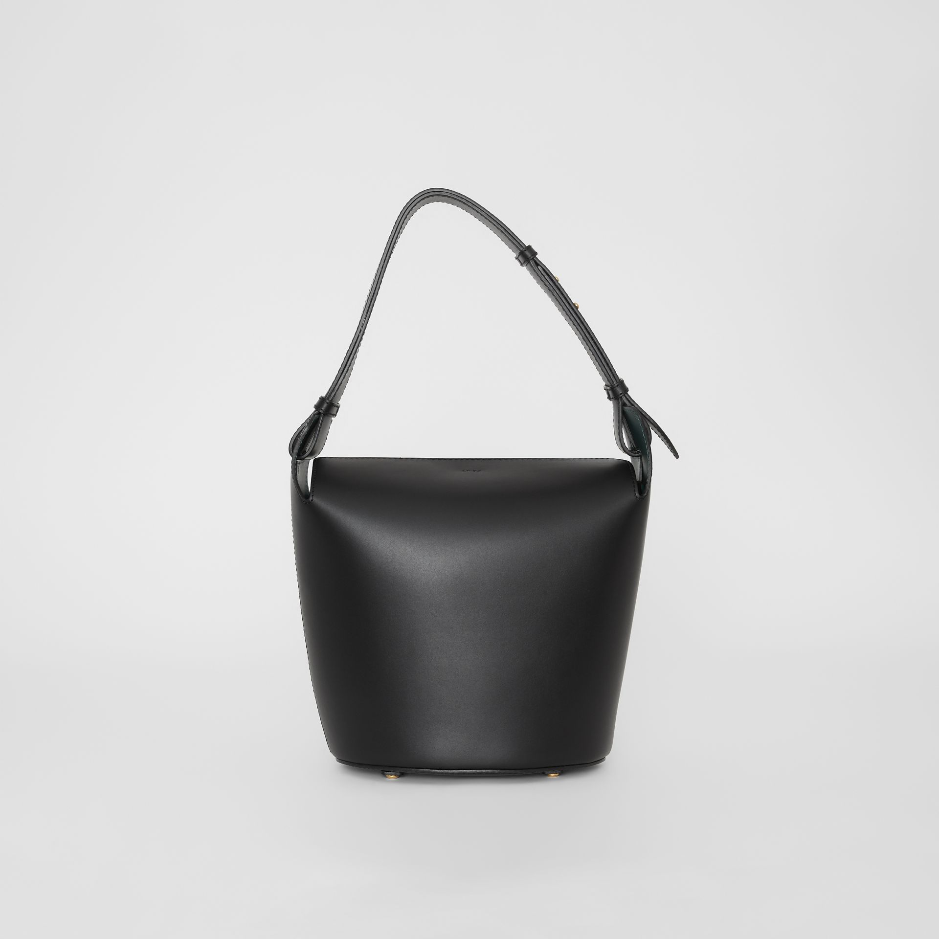 Sac The Bucket moyen en cuir (Noir) - Femme | Burberry Canada - photo de la galerie 7