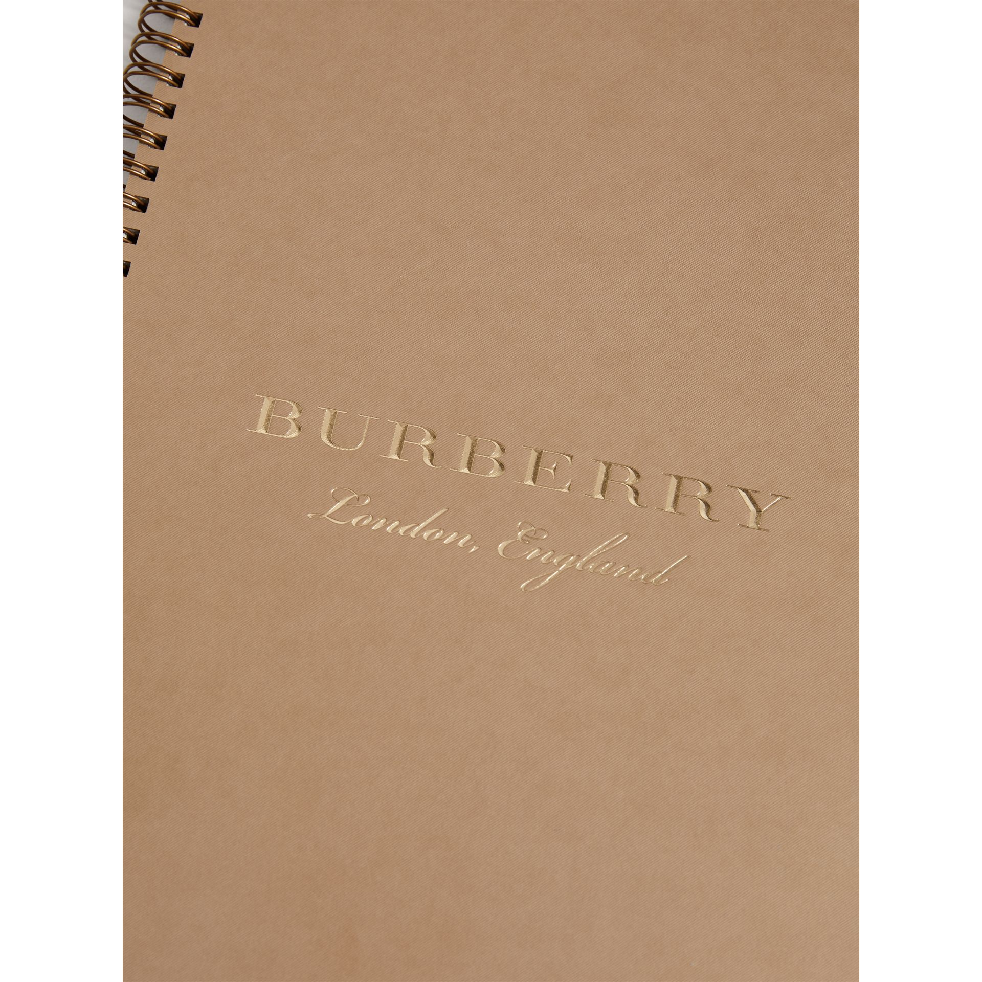 2018 A4 Diary Refill in Honey | Burberry United States - gallery image 1