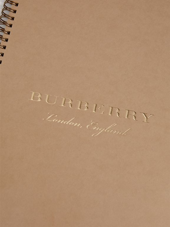 2018 A4 Diary Refill in Honey | Burberry United States - cell image 1
