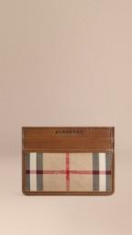 Horseferry Check Card Case