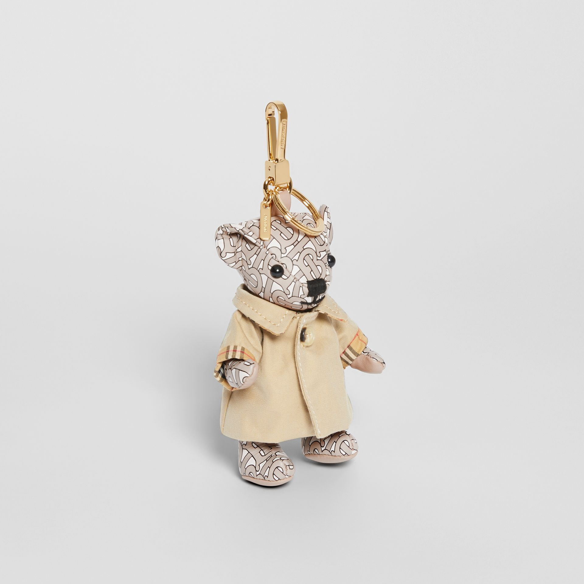 Thomas Bear Charm in Trench Coat in Beige - Women | Burberry - gallery image 0