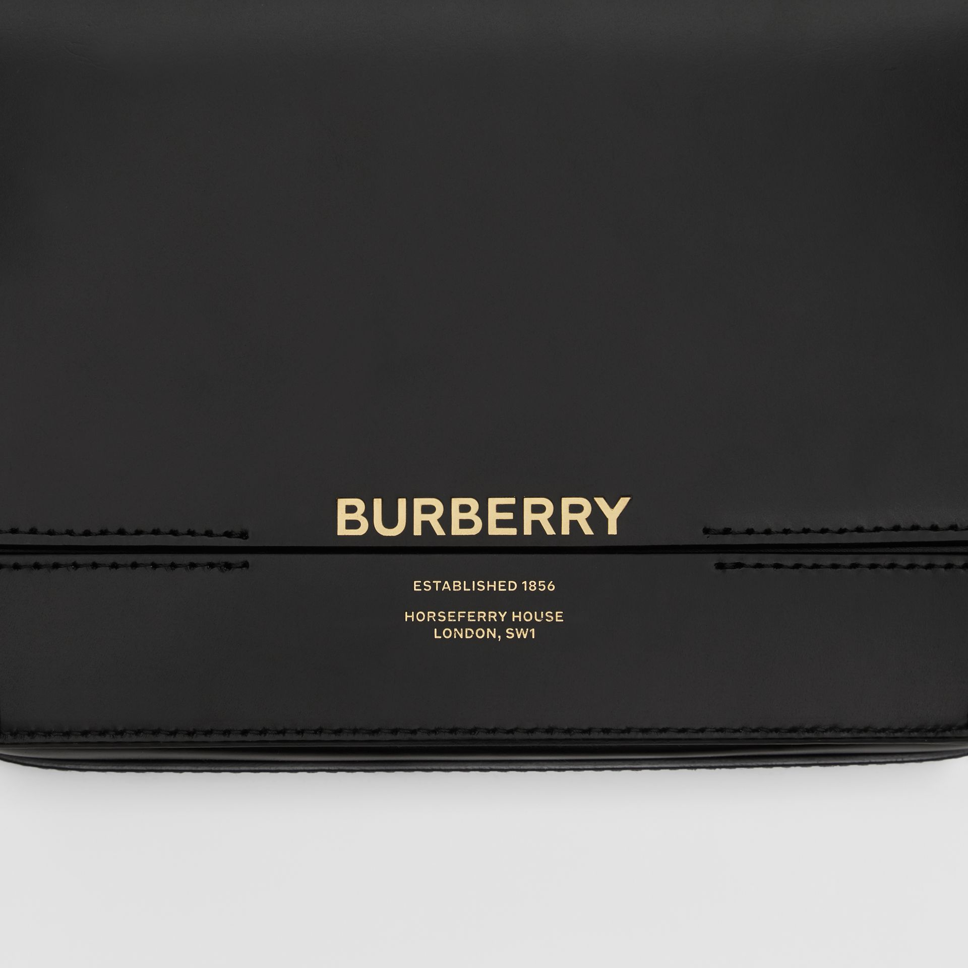 Small Leather Grace Bag in Black - Women | Burberry Australia - gallery image 1