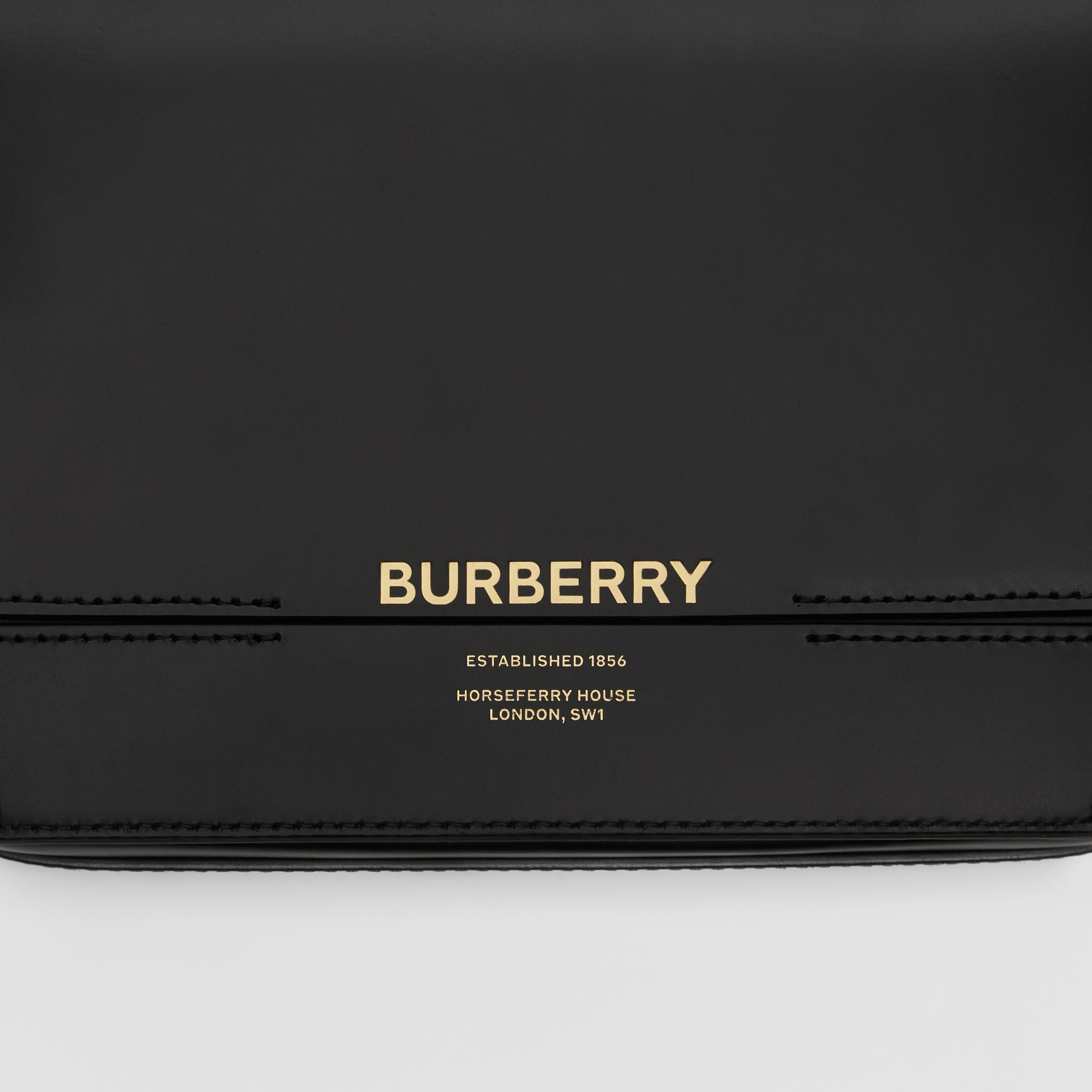 Small Leather Grace Bag in Black | Burberry - 2