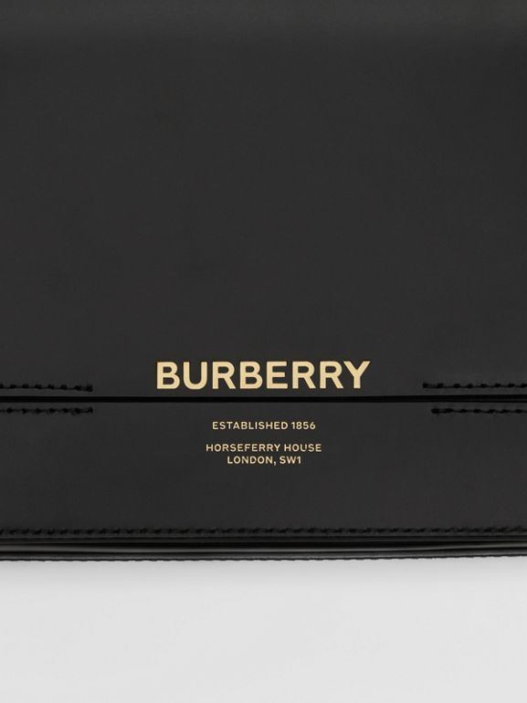 Small Leather Grace Bag in Black - Women | Burberry Hong Kong S.A.R - cell image 1