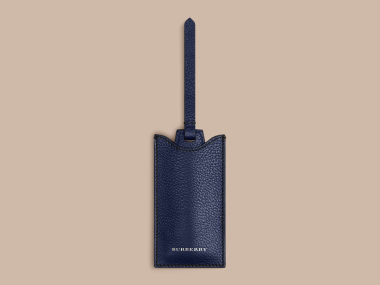 Leather Shoe Horn in Bright Navy - Men | Burberry - cell image 1