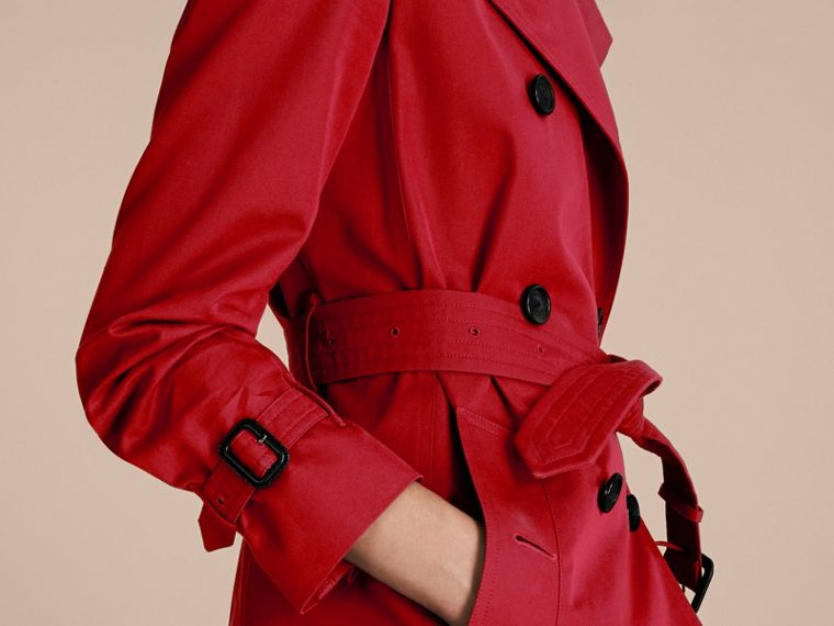 Rosso parata The Kensington - Trench coat Heritage corto Rosso Parata - cell image 4