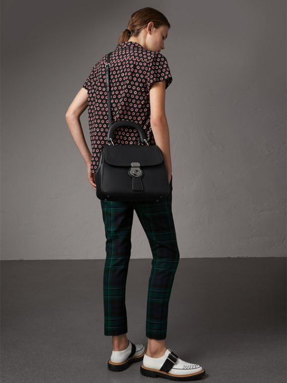 The Medium DK88 Top Handle Bag in Black - Women | Burberry Australia - cell image 2