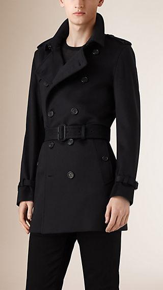 Trench-coat en cachemire de coupe Kensington