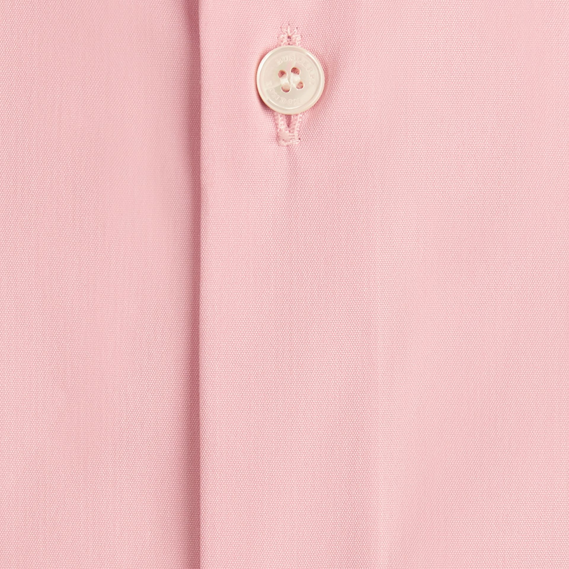 City pink Slim Fit Stretch Cotton Poplin Shirt City Pink - gallery image 2