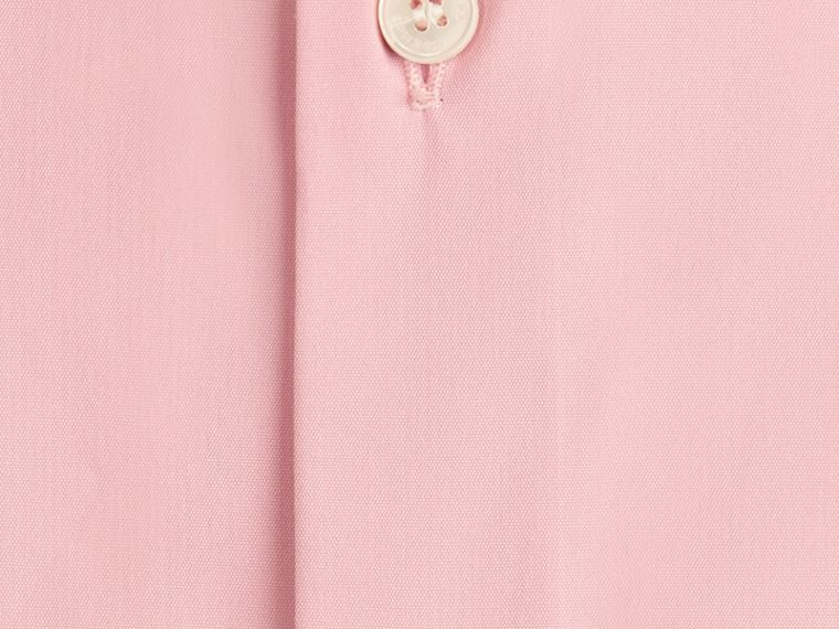 City pink Slim Fit Stretch Cotton Poplin Shirt City Pink - cell image 1