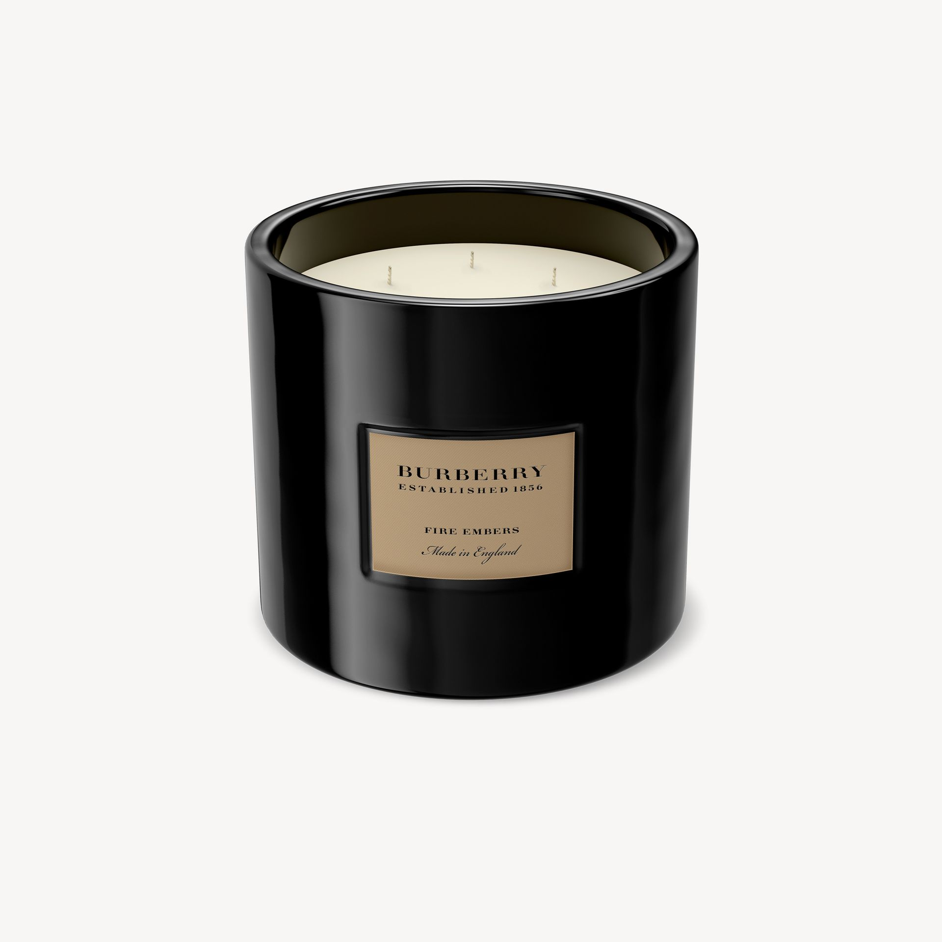 Fire Embers Scented Candle – 2kg | Burberry - gallery image 1