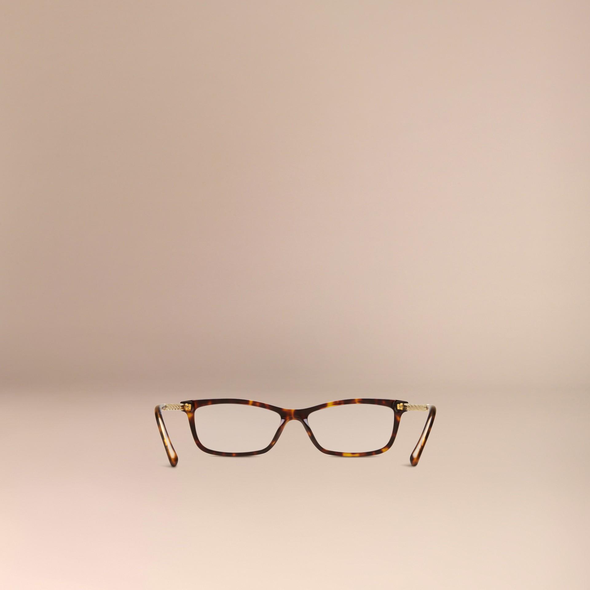 Metallic Detail Cat-eye Optical Frames - gallery image 3