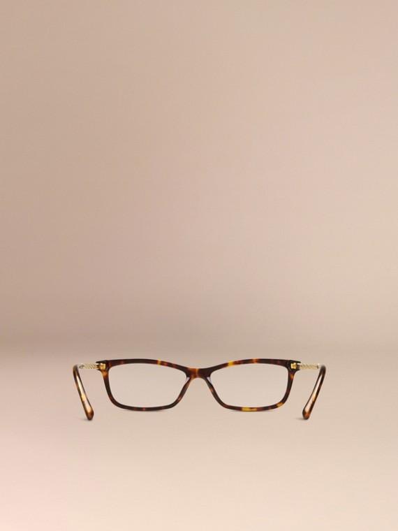 Metallic Detail Cat-eye Optical Frames - cell image 2