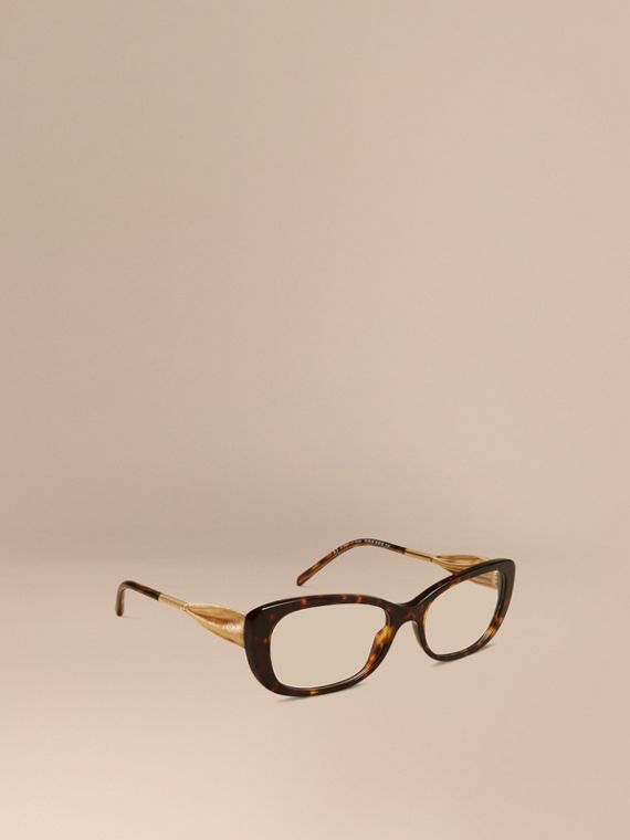 Gabardine Collection Oval Optical Frames Tortoise Shell