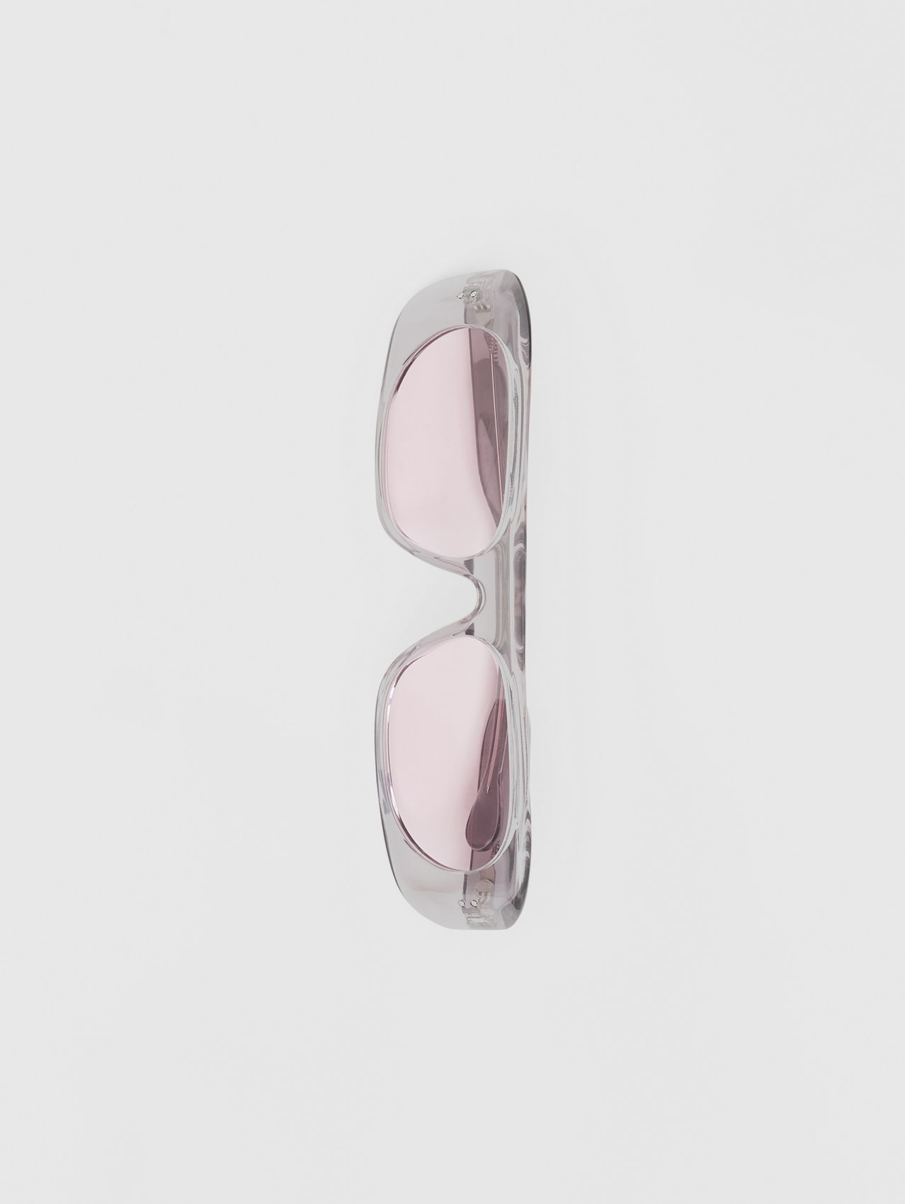 Blake Sunglasses in Transparent Grey