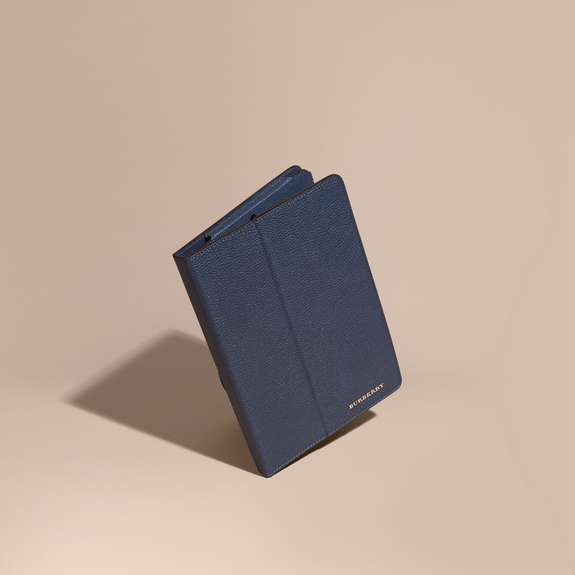 Bright navy Grainy Leather iPad Case Bright Navy - gallery image 1