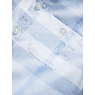Burberry - Chemise en coton délavé à motif check - 2