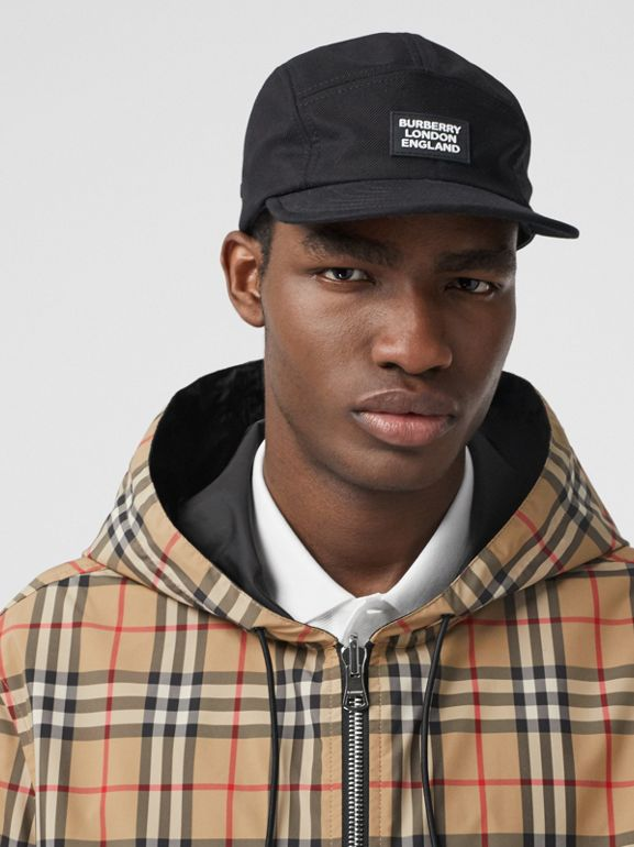 Reversible Vintage Check Recycled Polyester Jacket in Archive Beige - Men | Burberry - cell image 1