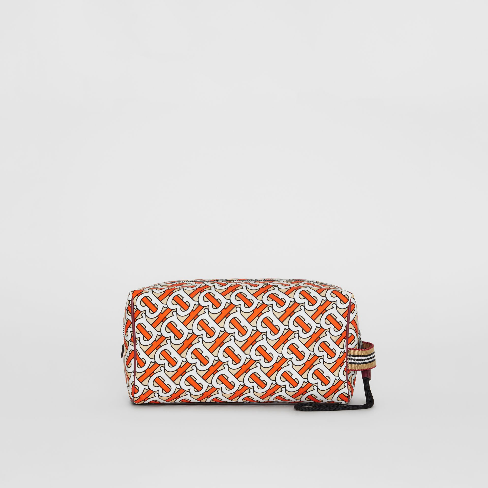Monogram Print Pouch in Vermilion - Men | Burberry - gallery image 3