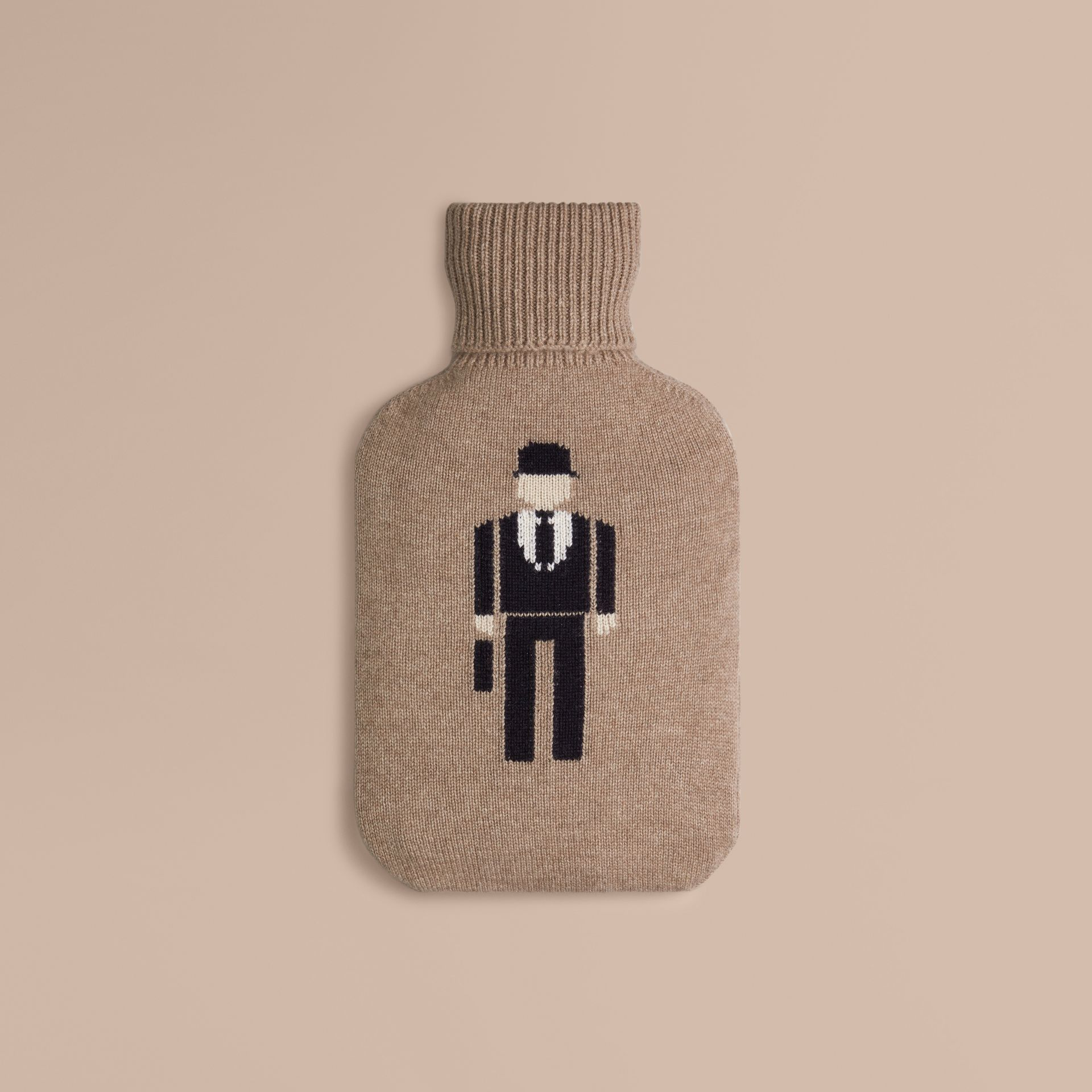 Camel The City Gent Cashmere Hot Water Bottle Cover - gallery image 1