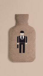 The City Gent Cashmere Hot Water Bottle Cover
