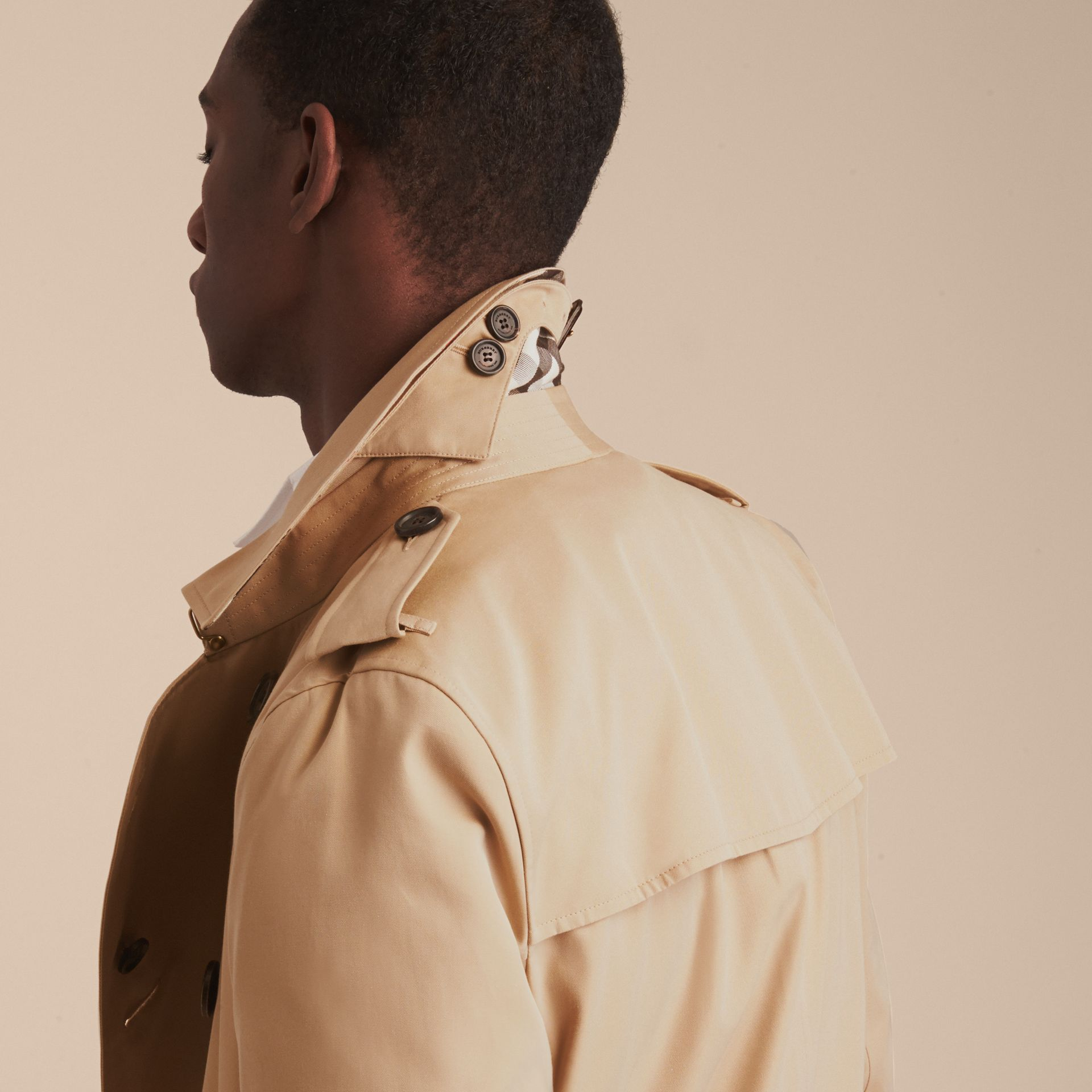 Miel The Kensington – Trench-coat Heritage long Miel - photo de la galerie 10