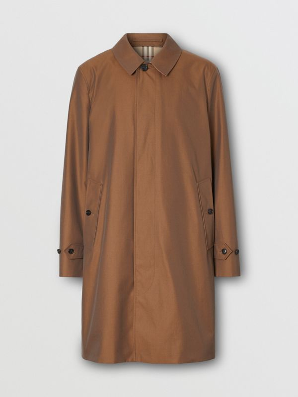 The Pimlico Heritage Car Coat in Amber Brown - Men | Burberry - cell image 3