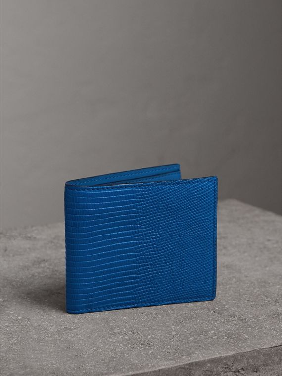 Lizard International Bifold Wallet in Sapphire Blue