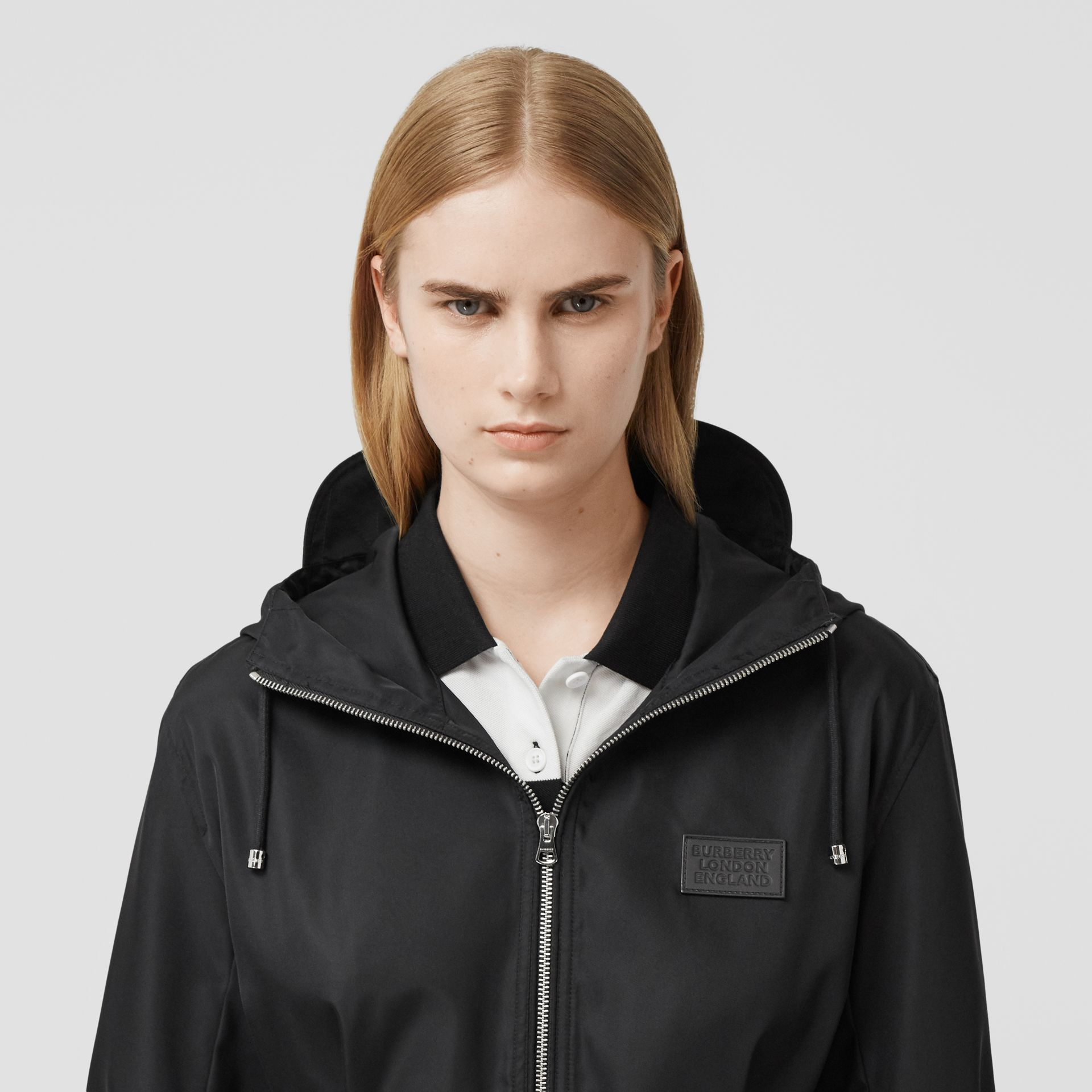 ECONYL® Parka in Black - Women | Burberry - gallery image 1