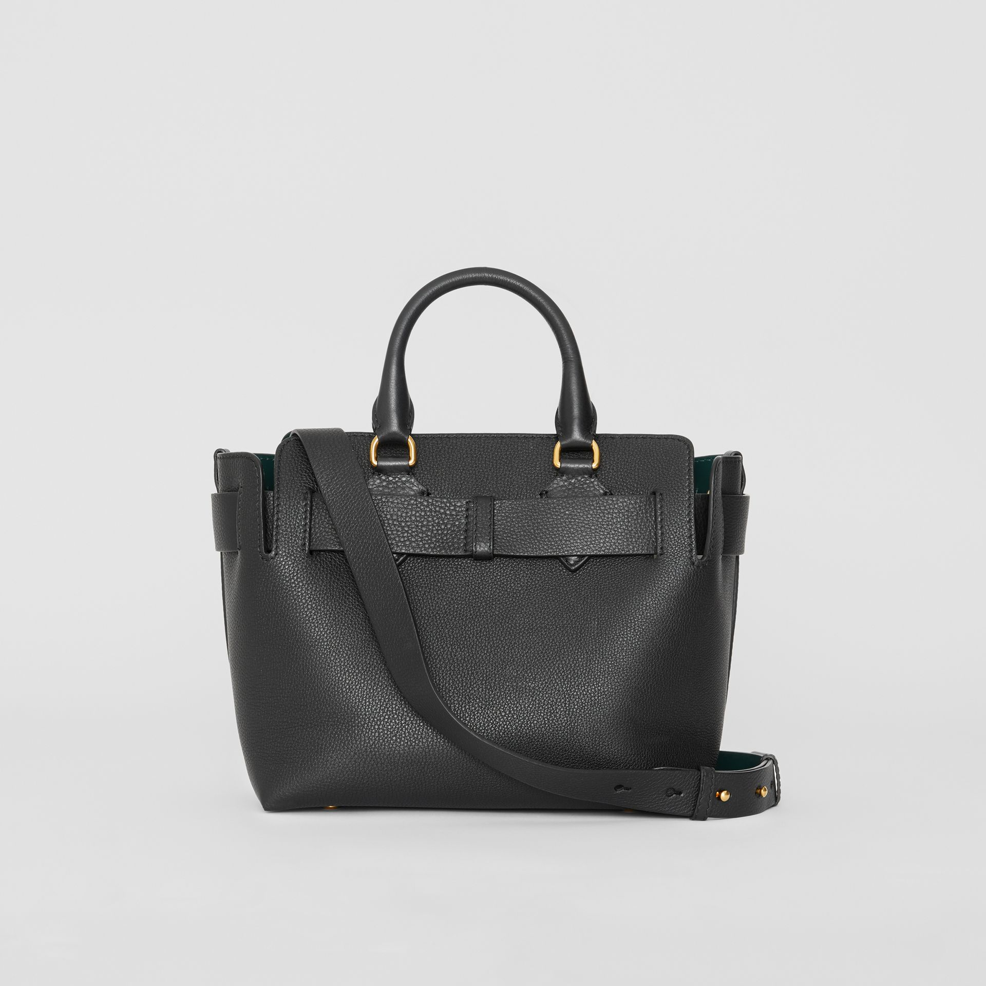 The Small Leather Belt Bag in Black - Women | Burberry - gallery image 7