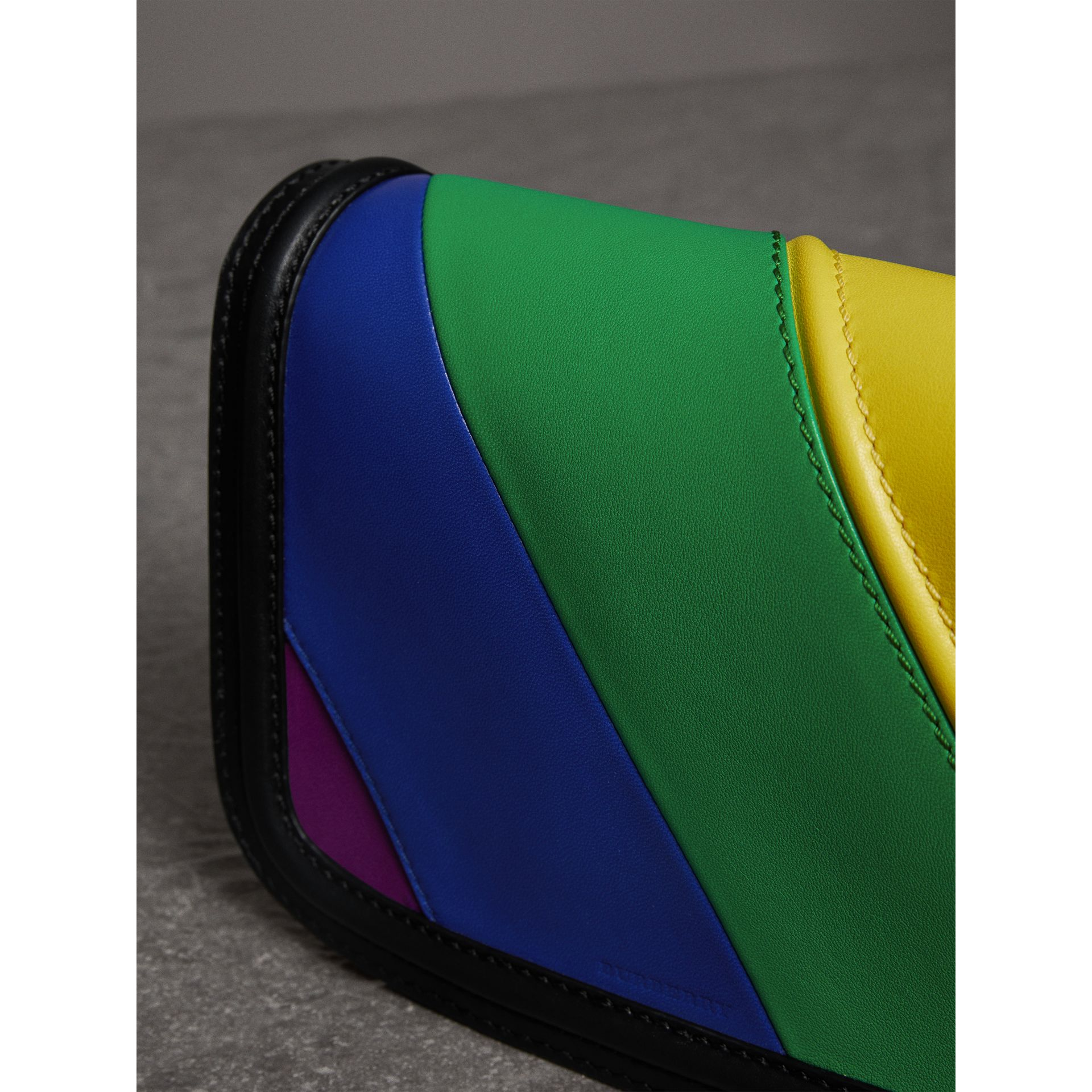 The Rainbow Leather Link Bag - Women | Burberry United States - gallery image 1