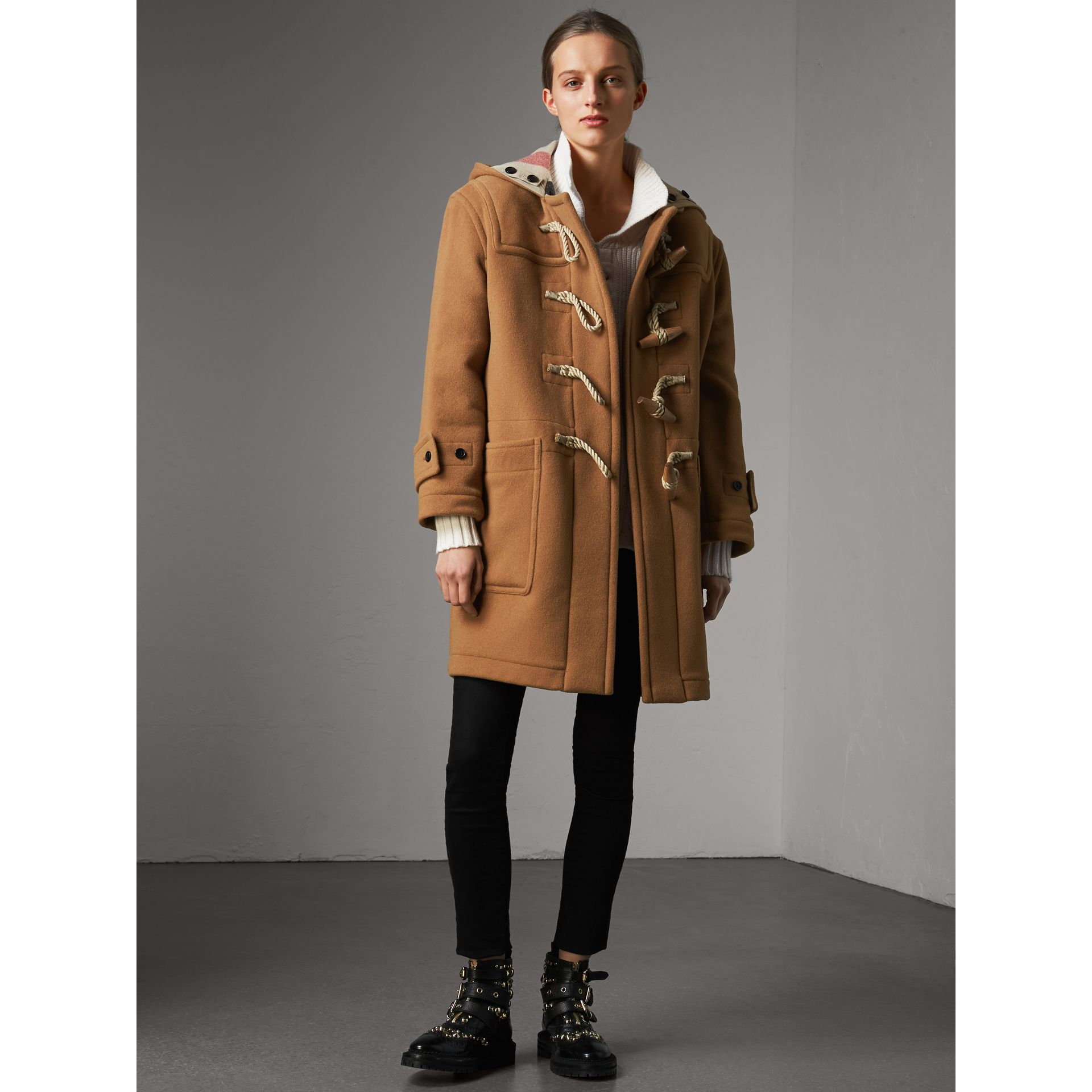 The Greenwich Duffle Coat in Mid Camel - Women | Burberry Canada - gallery image 0