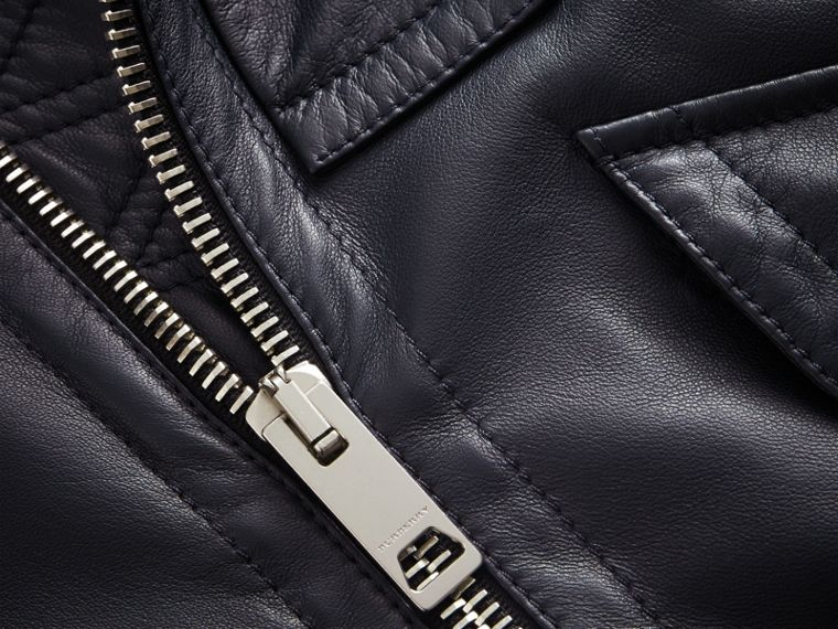 Lambskin Bomber Jacket - Men | Burberry - cell image 1