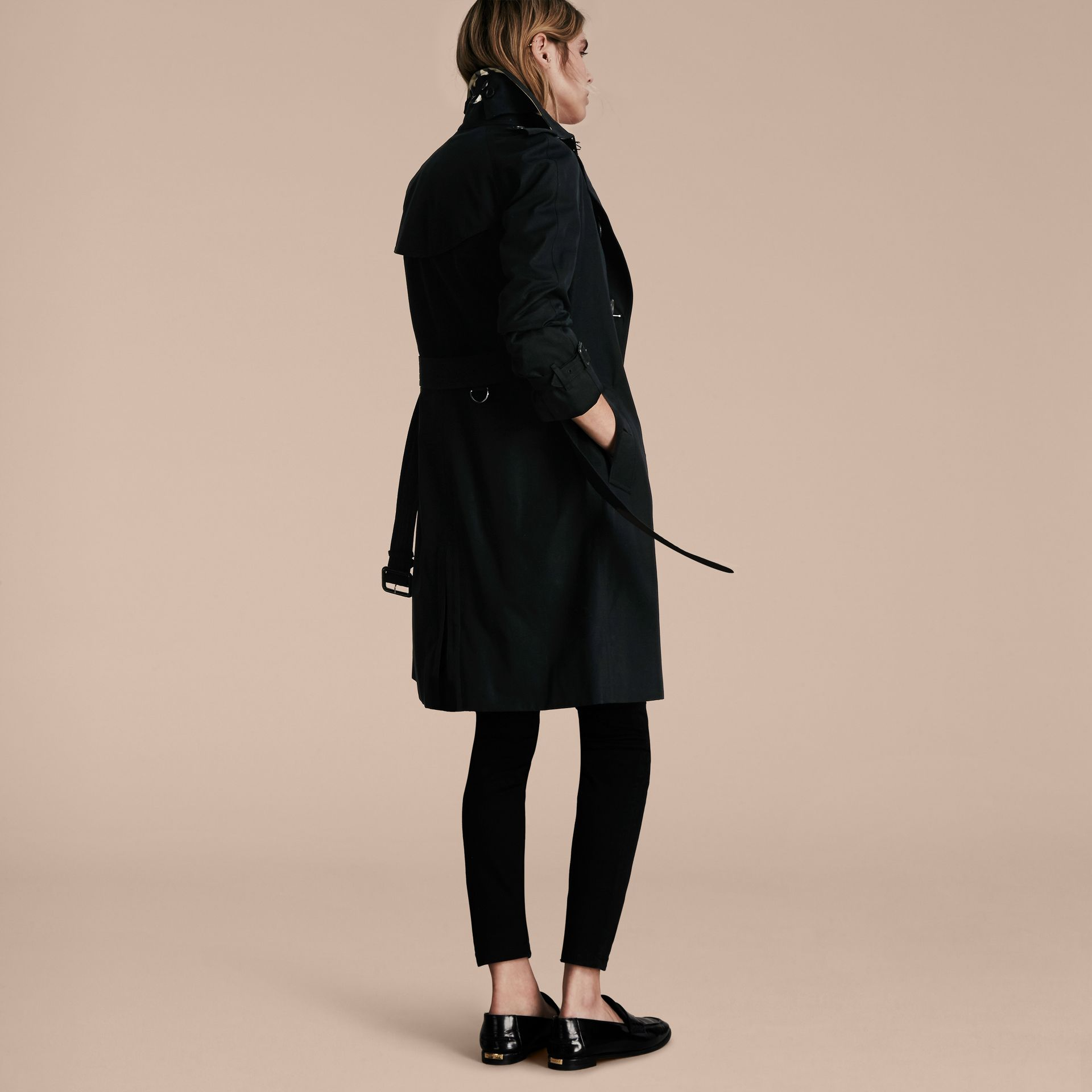Black The Westminster - Long Heritage Trench Coat - gallery image 3