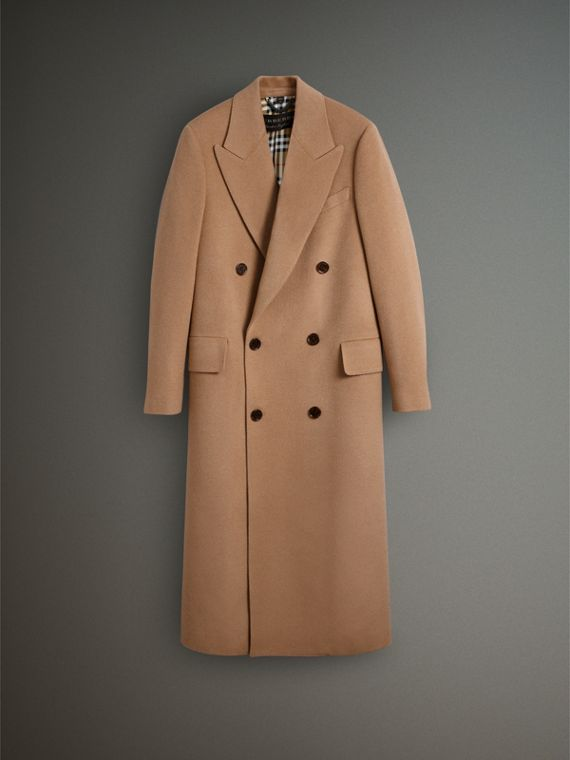 Camel Hair Wool Chesterfield - Men | Burberry Australia - cell image 3
