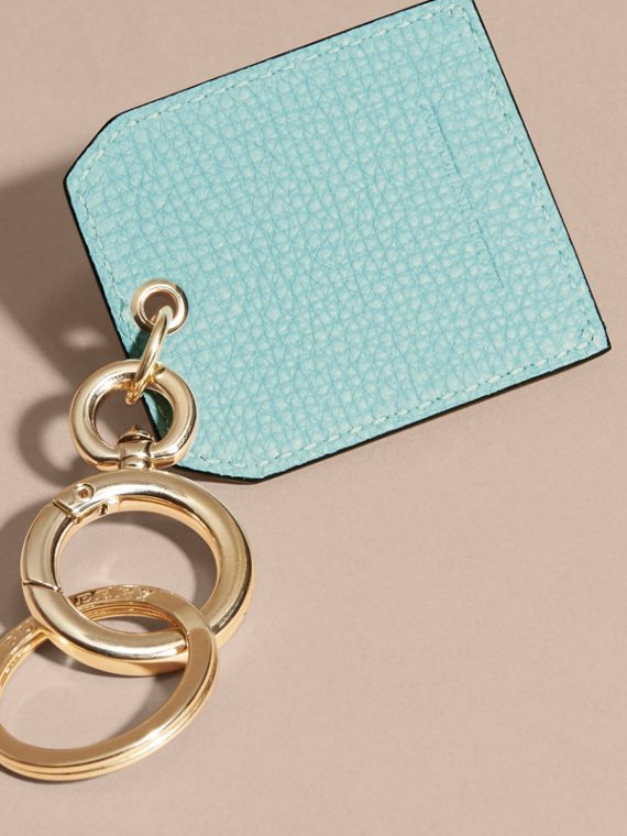 Grainy Leather Key Charm in Pale Opal - Women | Burberry - cell image 3