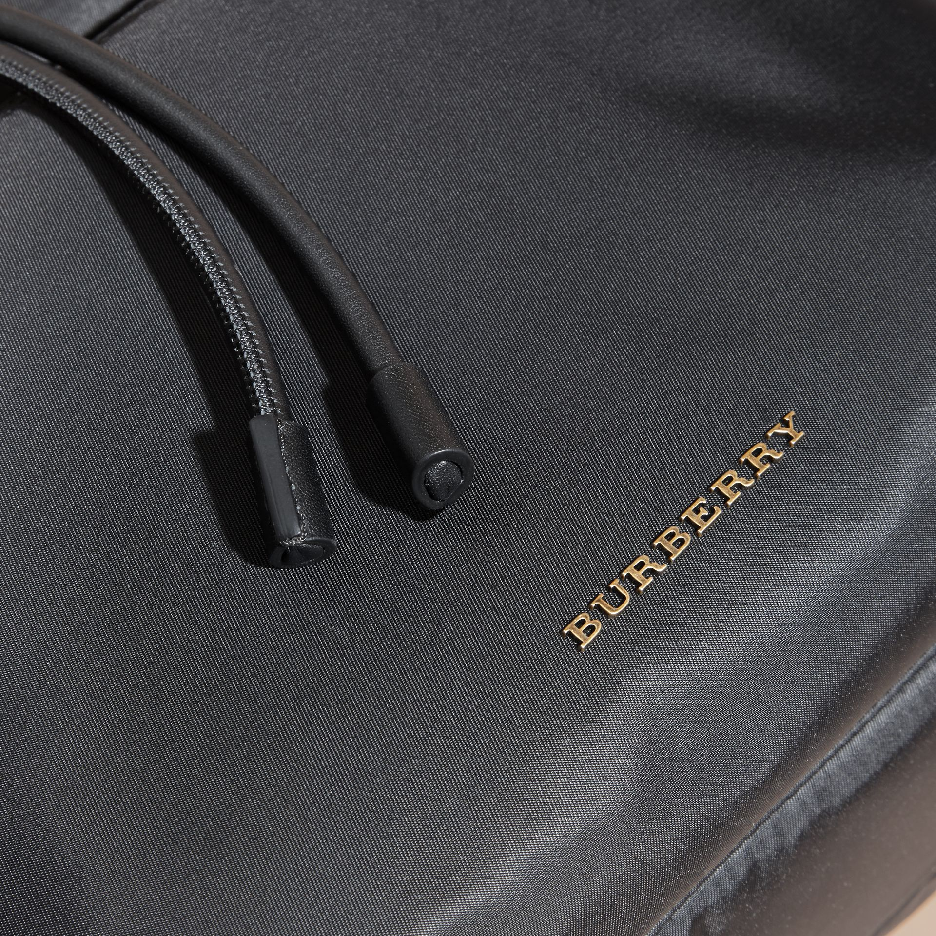 The Extra Large Rucksack in Technical Nylon and Leather - gallery image 6
