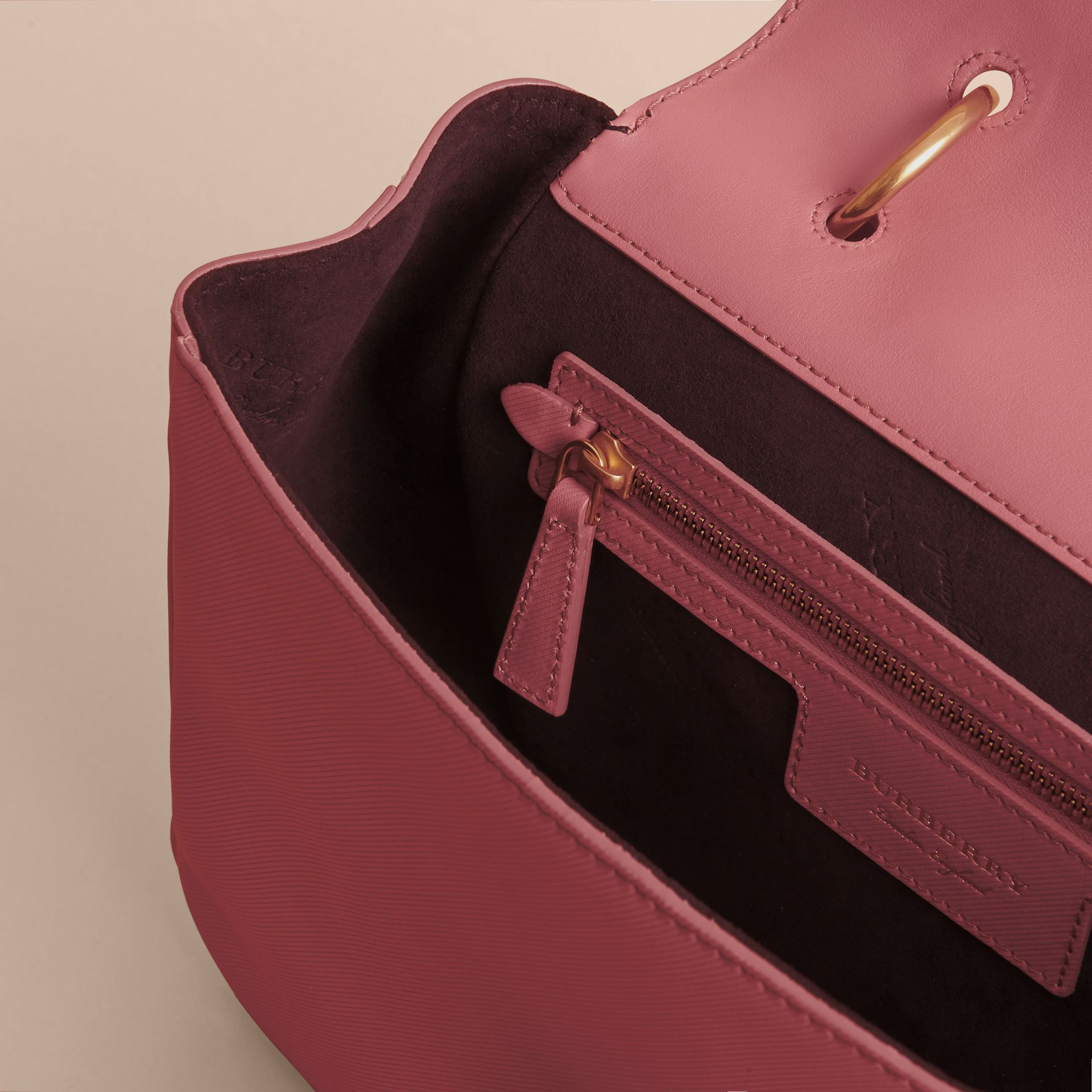 The Medium DK88 Top Handle Bag Blossom Pink - gallery image 4