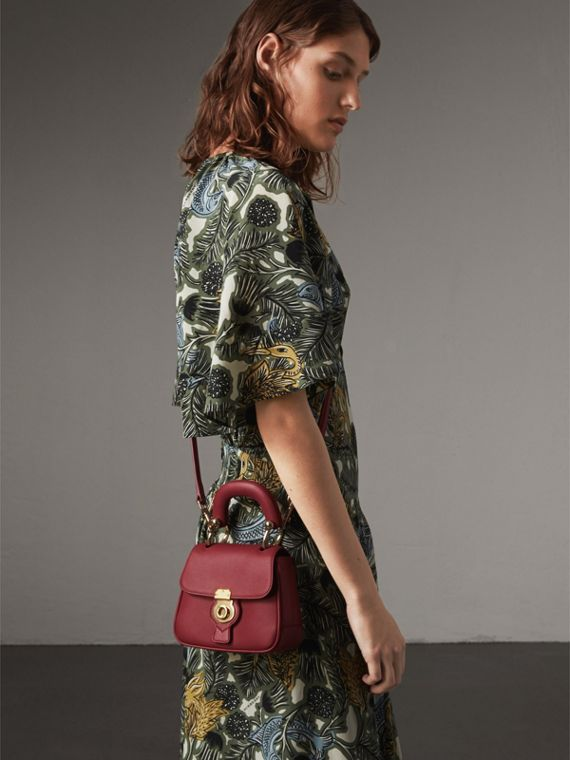 The Mini DK88 Top Handle Bag in Antique Red - Women | Burberry United Kingdom - cell image 2