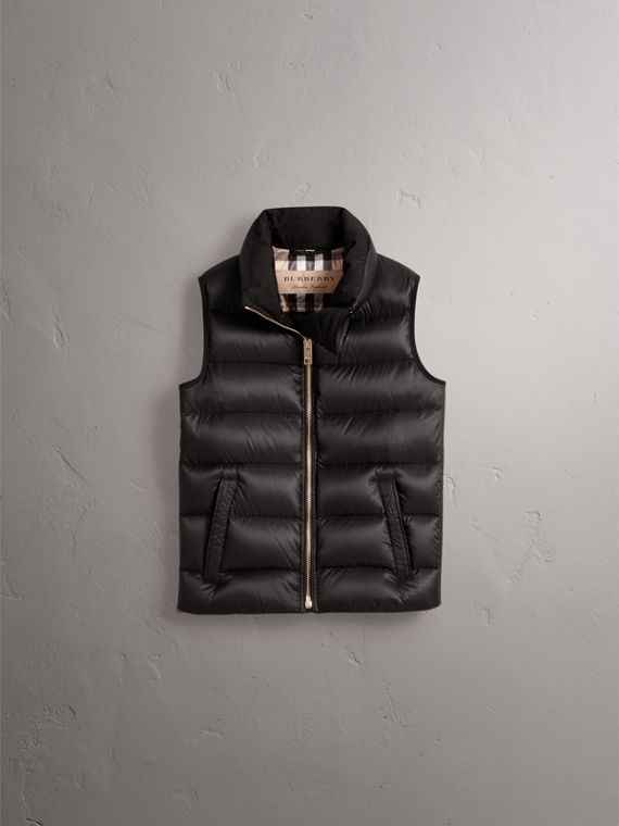 Down-filled Gilet in Black - Women | Burberry United Kingdom - cell image 3